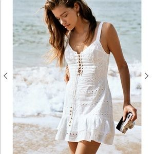ISO Sabo Skirt Kayla Eyelet Dress